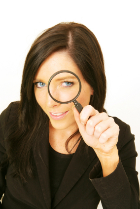 Woman w:Magnifying Glass.jpg
