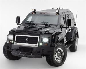 Imposing SUV